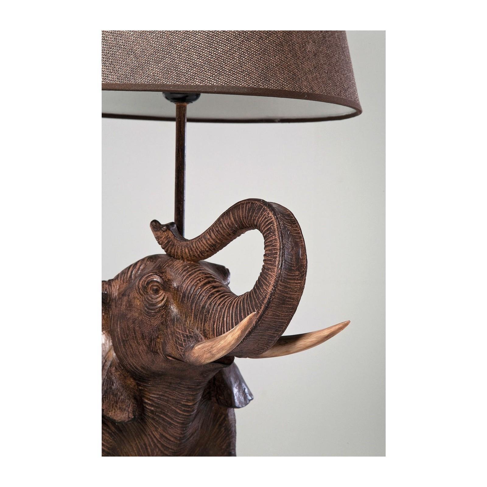 De Soldes Design Elephant Poser Lampe À Maisongt; Luminaires Table Kare Safari Lampes NywmPv8On0