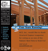 Print Ad Design Beaudette Consulting Engineers BCE Self Promo Ad