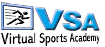 Logo Design The Virtual Sports Academy VSA Fight Childhood Obesity