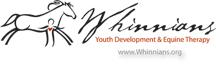 Logo Design Whinnians Horse Therapy Services in Aurora, Colorado