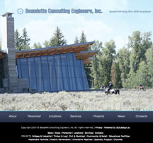 Beaudette Consulting Engineers, BCE Website Redesign Services, Internet Marketing Services, Email Marketing Services