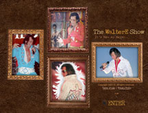 WalterE Show, Elvis Impersonator, ETA Website Design