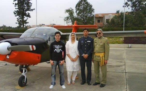 Flying officer Minhaj.ul.hassan shaheed
