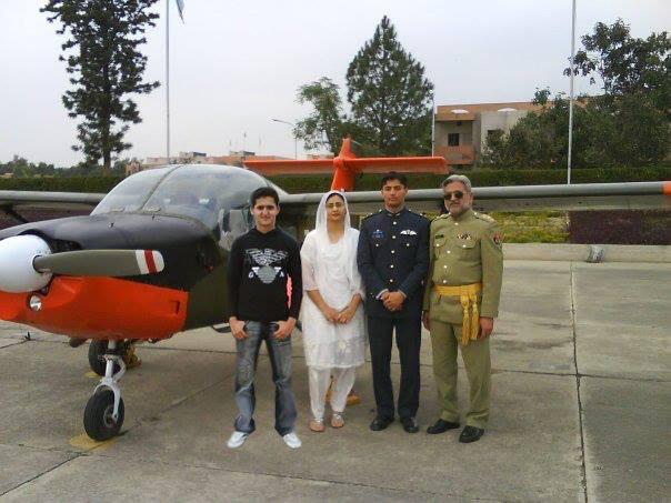 Flying officer Minhaj.ul.hassan shaheed