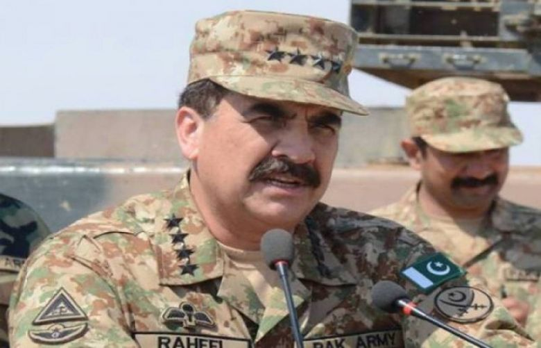 brefing of COAS about flood
