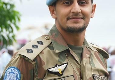 Captain Bilal Zafar shaheed