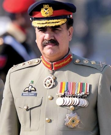 Pak Army chief General Raheel Sharif