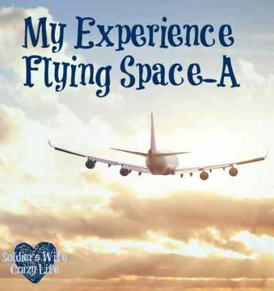 my experience flying Space-A