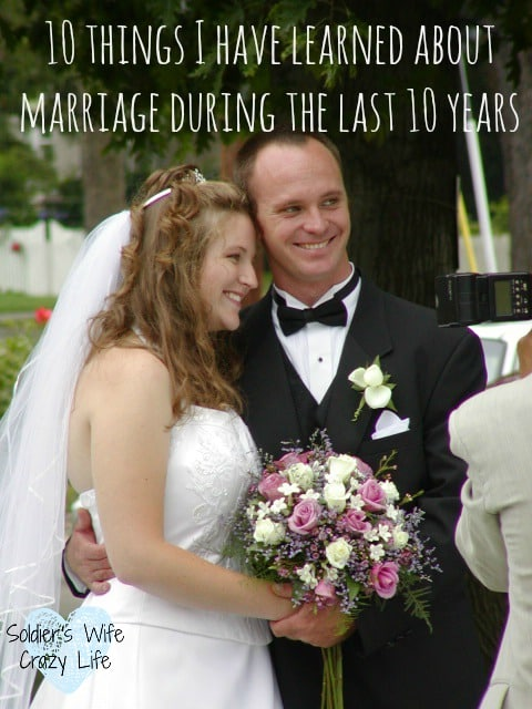 10 things I have learned about marriage the last 10 years