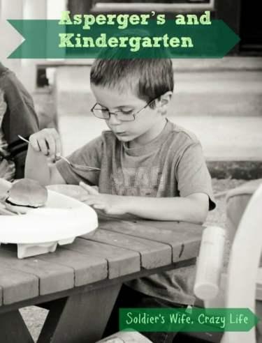 Asperger's and Kindergarten