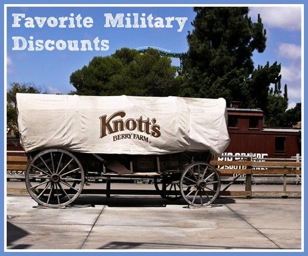 Favorite Military Discounts
