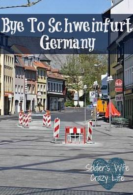 Bye To Schweinfurt, Germany