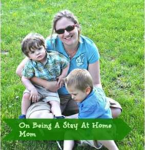 On Being A Stay At Home Mom
