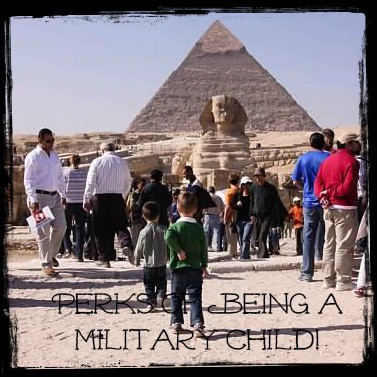 Perks of Being a Military Child