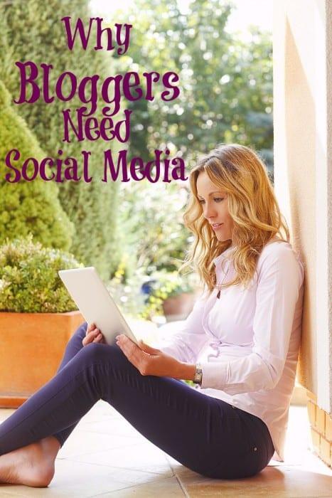 Why Bloggers Need Social Media