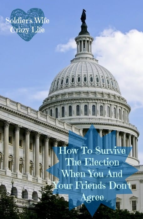 How To Survive The Election When You And Your Friends Don't Agree