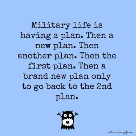 Military Wife Makes Plans