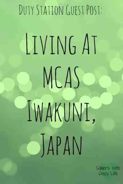 Living at Iwakuni, Japan