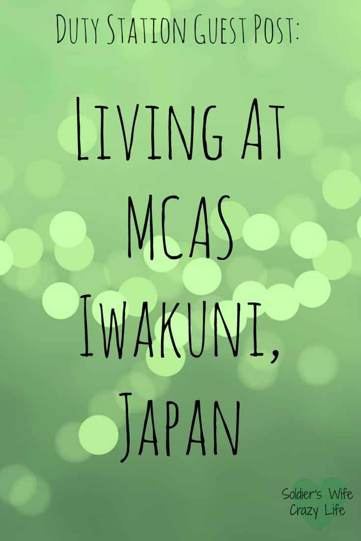 Living at Iwakuni, Japan