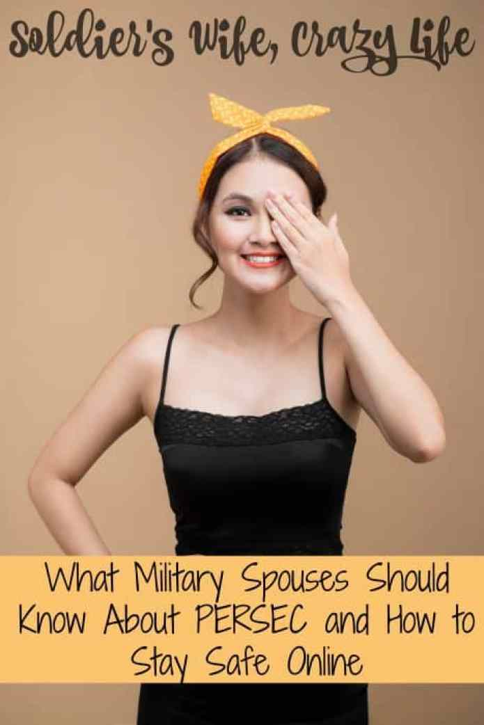 What Military Spouses Should Know About PERSEC and How to Stay Safe Online