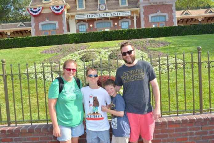We Went to Disneyland Using the Armed Forces Salute