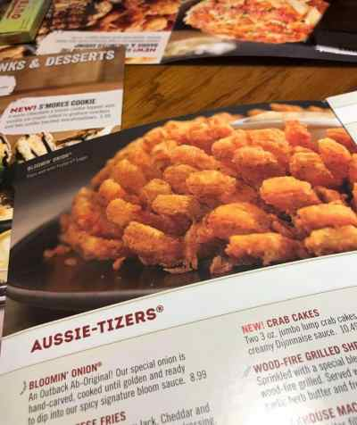 It's November! Let's Go To Outback!