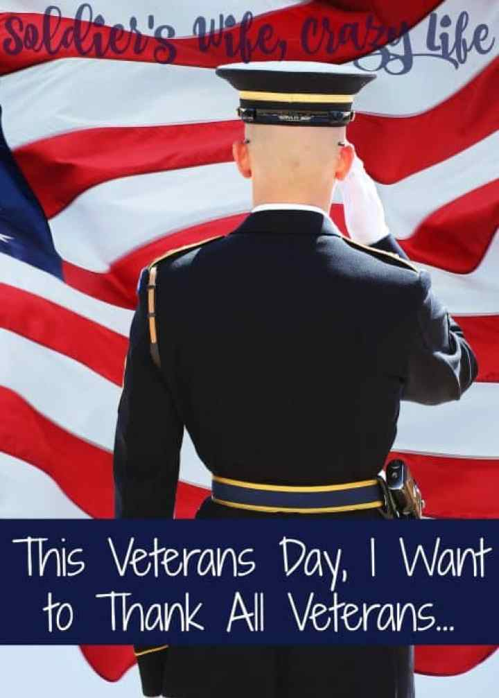 Thank A Veteran On Veterans Day