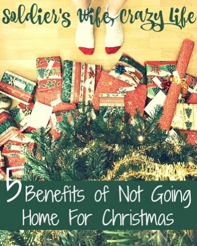 5 Benefits of Not Going Home For Christmas
