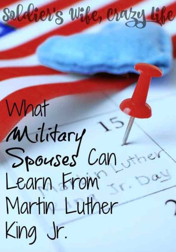 What Military Spouses Can Learn From Martin Luther King Jr.
