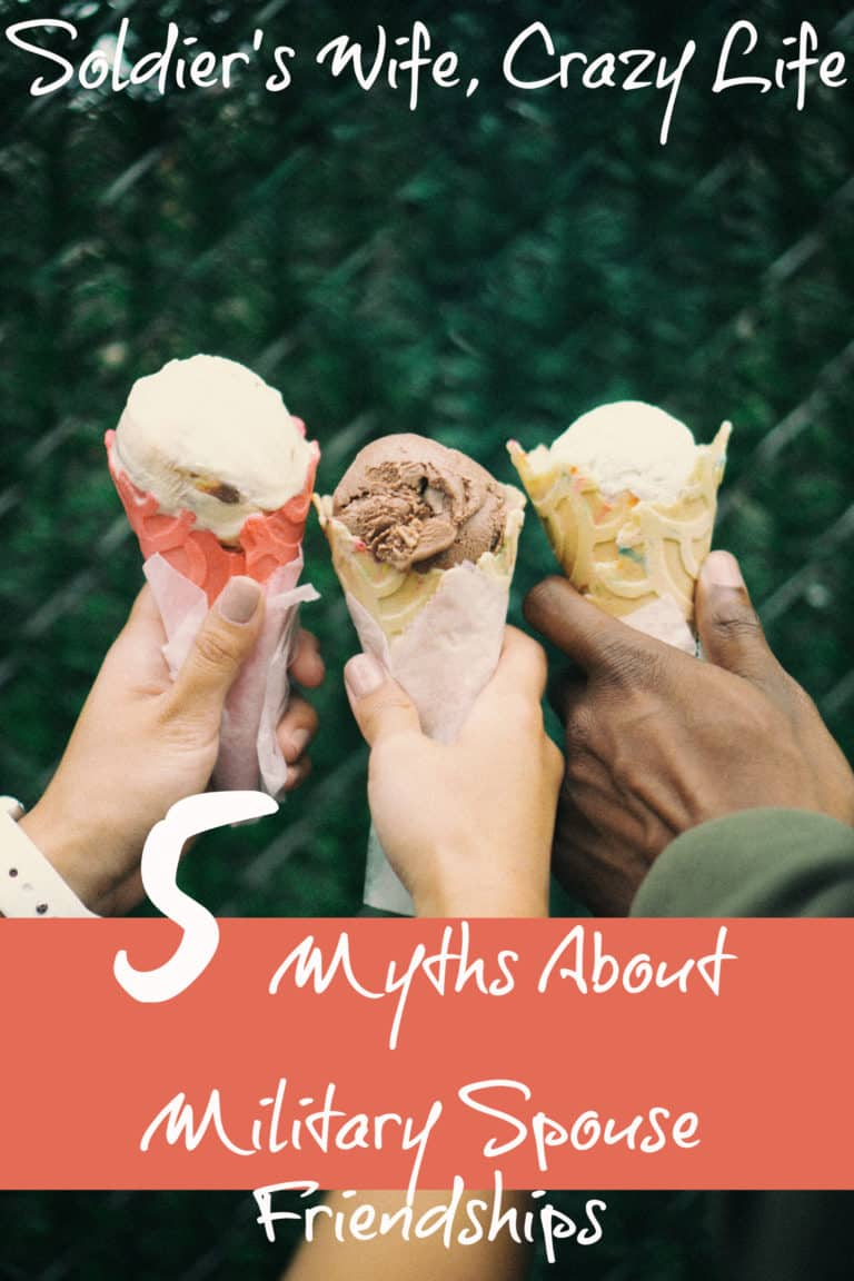 5 Myths About Military Spouse Friendships