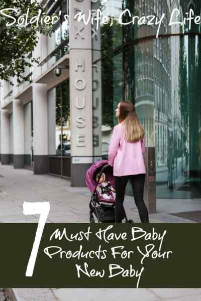 7 Must Have Baby Products For Your New Baby