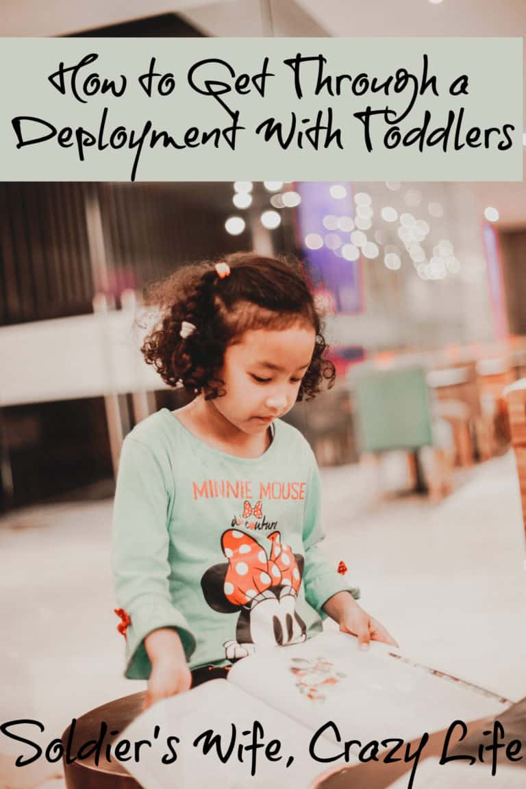How to Get Through a Deployment With Toddlers