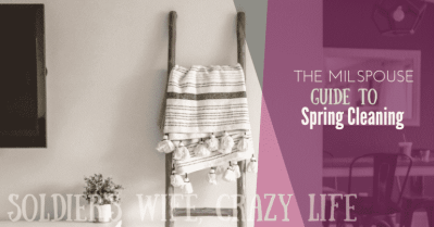 The Milspouse Guide to Spring Cleaning