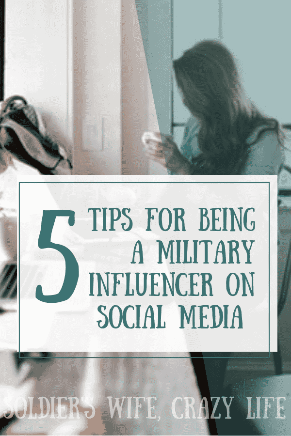 5 Tips For Being a Military Influencer On Social Media