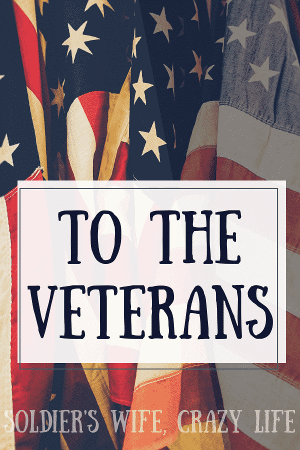 To the Veterans