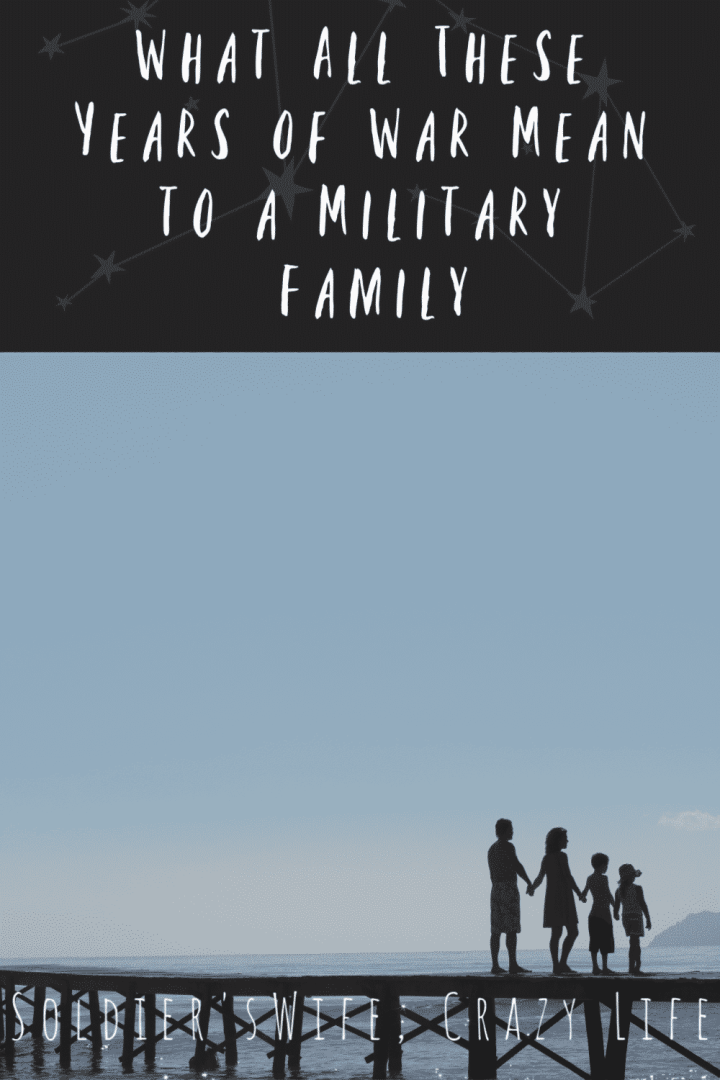 What All These Years of War Mean to a Military Family