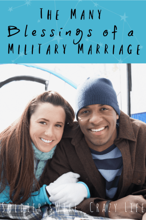 The Many Blessings of a Military Marriage