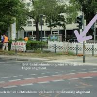 Recherche Motorradunfall Prinzenallee Ecke Osloer Straße Berlin Wedding