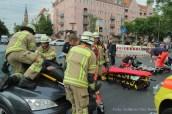 schwerverletzte motorradunfall osloer strasse prinzenallee Berlin (10)
