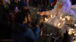 Christmas Bike Tour 2015 Santa claus on road (1)