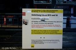 Tram Ersatzverkehr Bornholmer Osloer Straße (2)