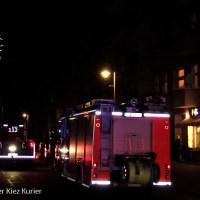Reihenweise böswillige Fehlalarme und eine Brandstiftung Soldiner Straße