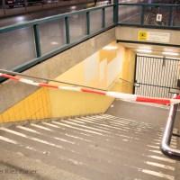 Stinkende Socken Bombenalarm im U-Bahnhof Seestraße