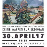 Demo Organize 2017  Berlin Leopoldplatz