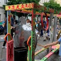 Fotoserie Lampedusa Straßenfest in der Buttmannstraße