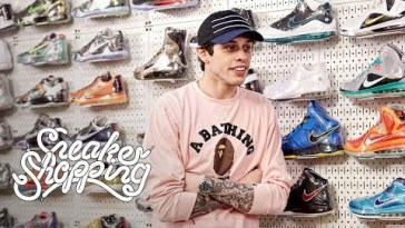 8af69d862f2 Pete Davidson Goes Sneaker Shopping With Complex