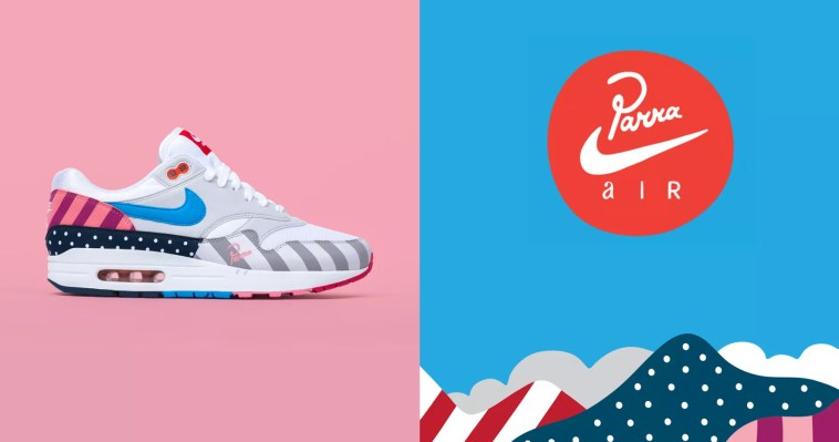 "buy popular fe8d2 7fc78 Air Max 1 ""Parra"" – SoleGRIND"