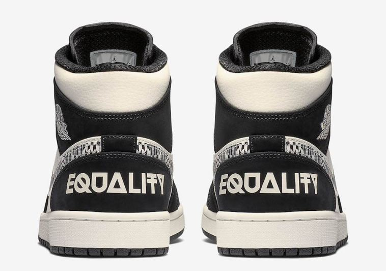 """a17eed88d Look for the Air Jordan 1 Mid """"Equality"""" to release on January 15th at  select Jordan Brand retailers and Nike.com."""