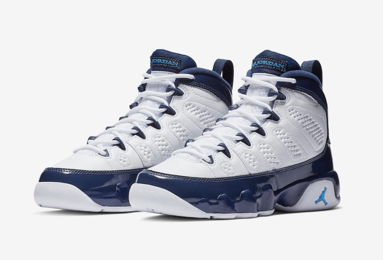 """sale retailer fc437 b8f15 Look for the Air Jordan 9 """"UNC"""" to release on February 9th at select Jordan  Brand retailers and Nike.com. The retail price tag is set at  190 USD."""