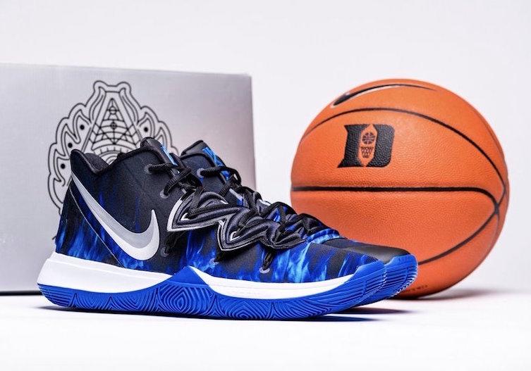 Nike Kyrie 5 Duke Blue Devils Fire PE – Sneaker Bar Detroit – SoleGRIND 8f606d798